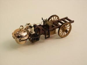 Automobilul cu abur - Nicolas-Joseph CUGNOT (1771)